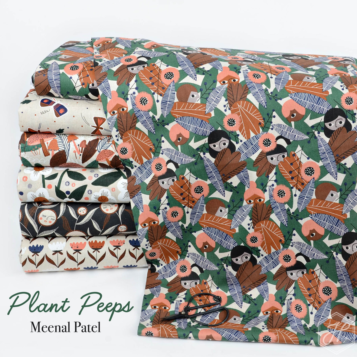 Plant Peeps Fabric Meenal Patel from Cloud 9 at Hawthorne Supply Co