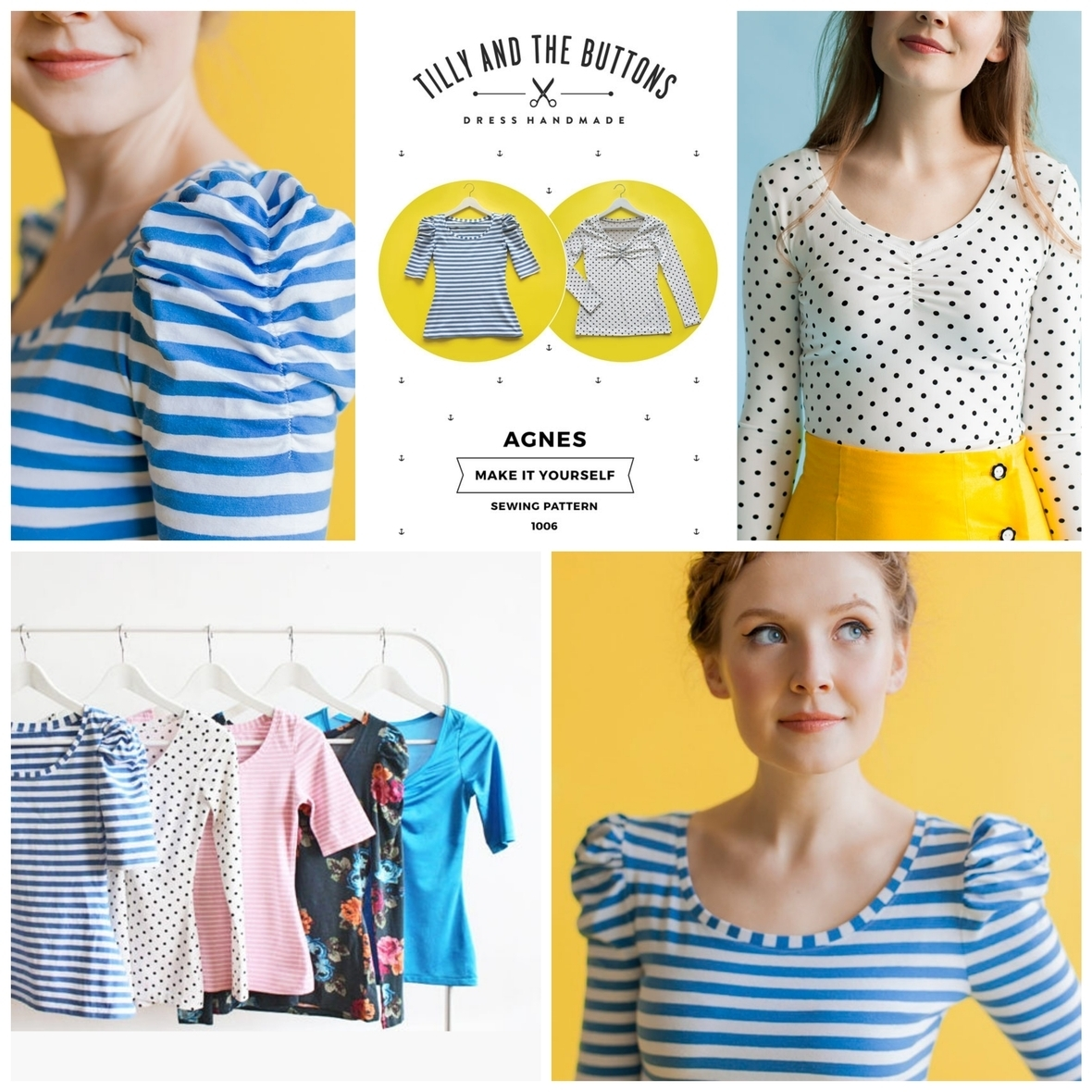 tilly and the buttons  agnes sewing pattern