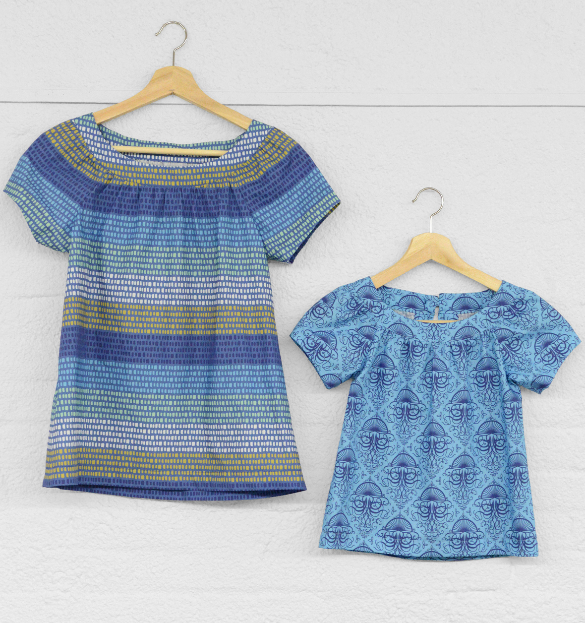 Mariner Fabric Sailor Tops