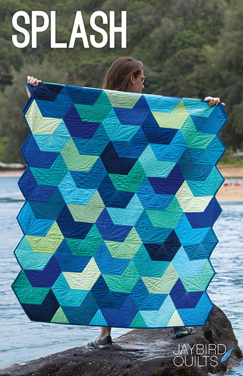 jaybird quilts  splash sewing pattern