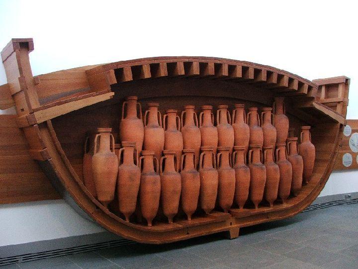 anforas barco romano