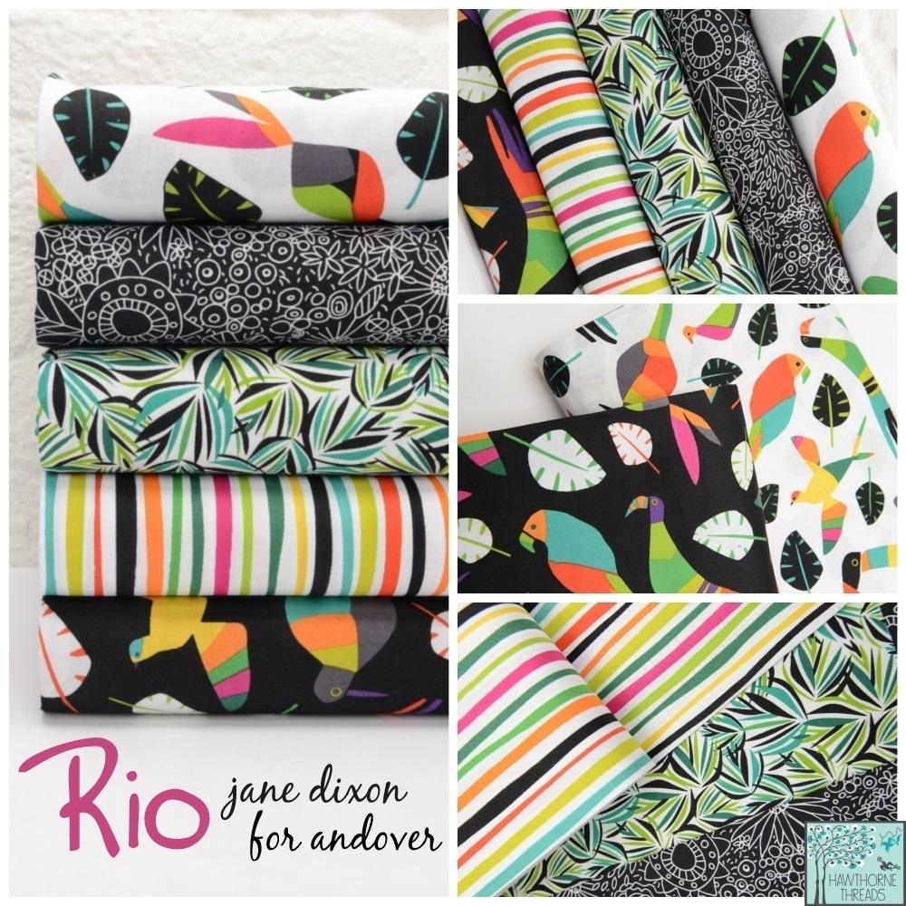 Rio Fabric Poster