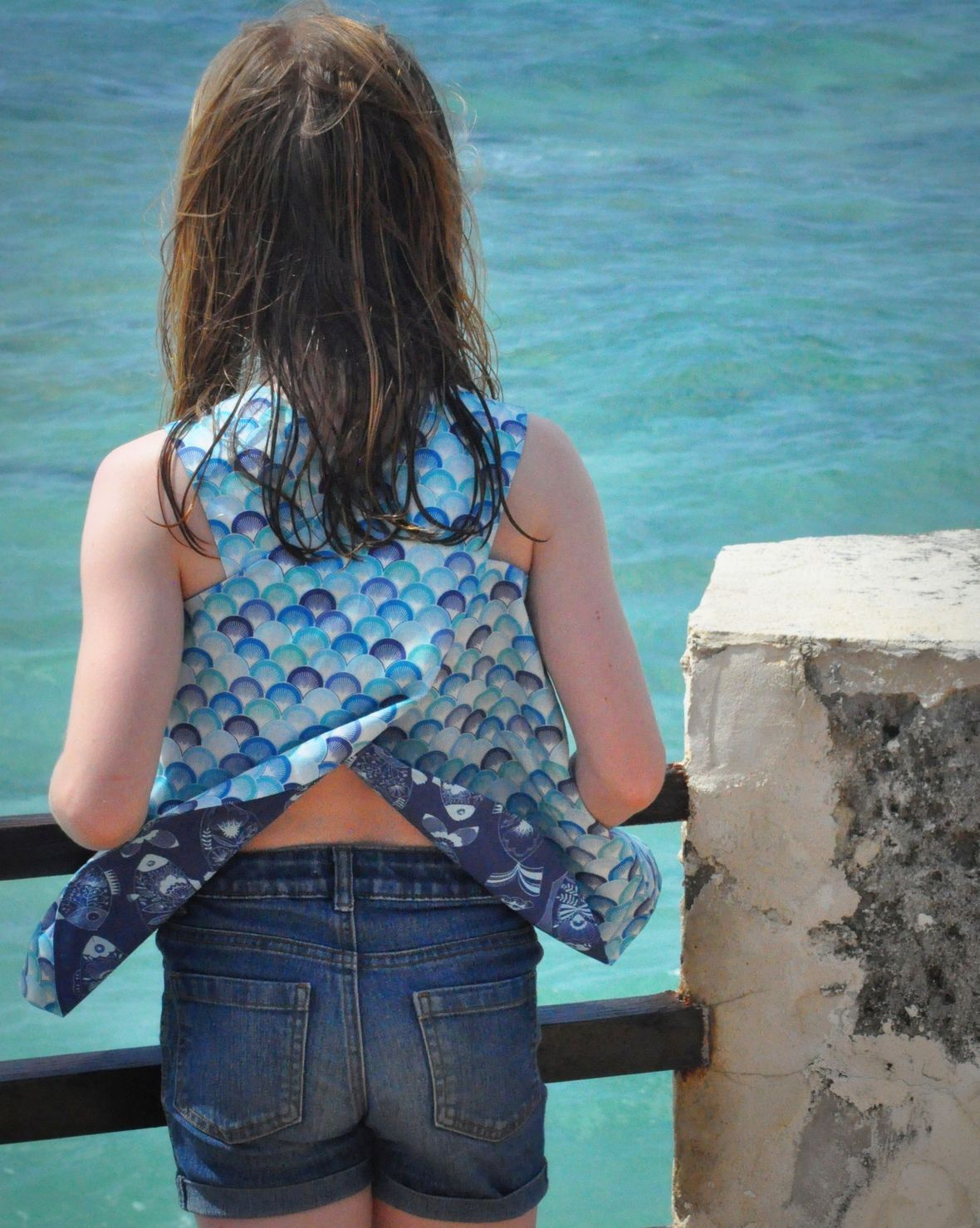 Riviera Fabric Top