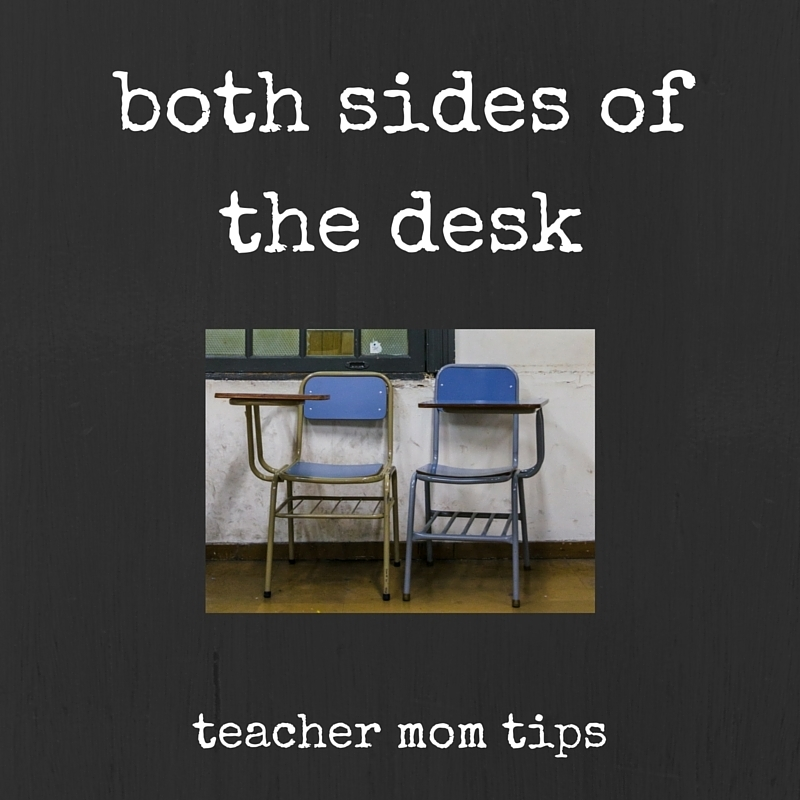 Both Sides of the Desk