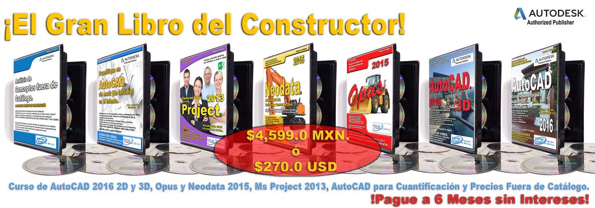 Promocion Libro del Constructor