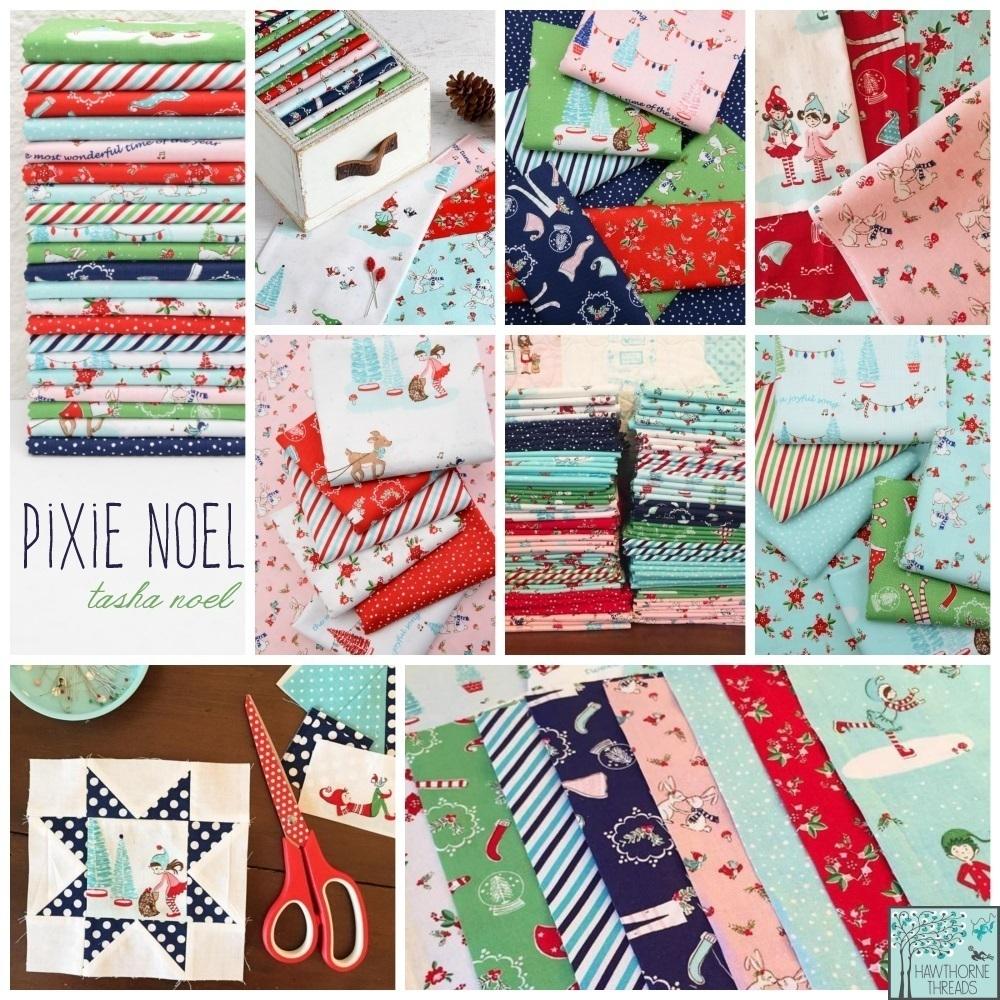 Pixie Noel Fabric Poster
