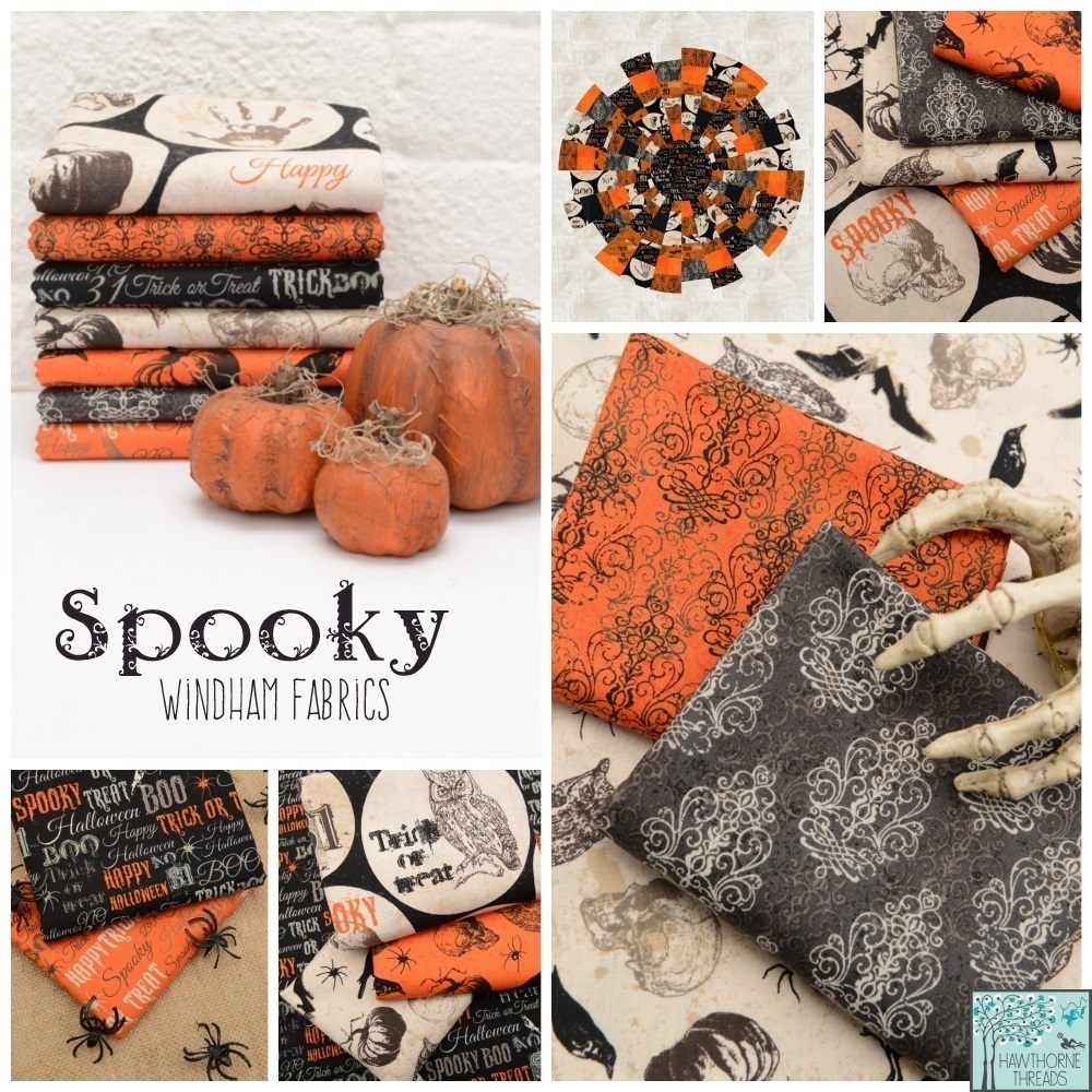 Spooky Fabric Poster