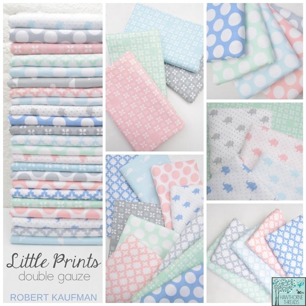 Little Prints Double Gauze Fabric