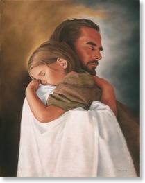 jesus-holding-girl