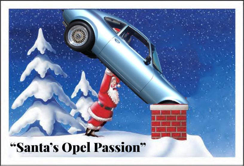 Santa s Opel Passion