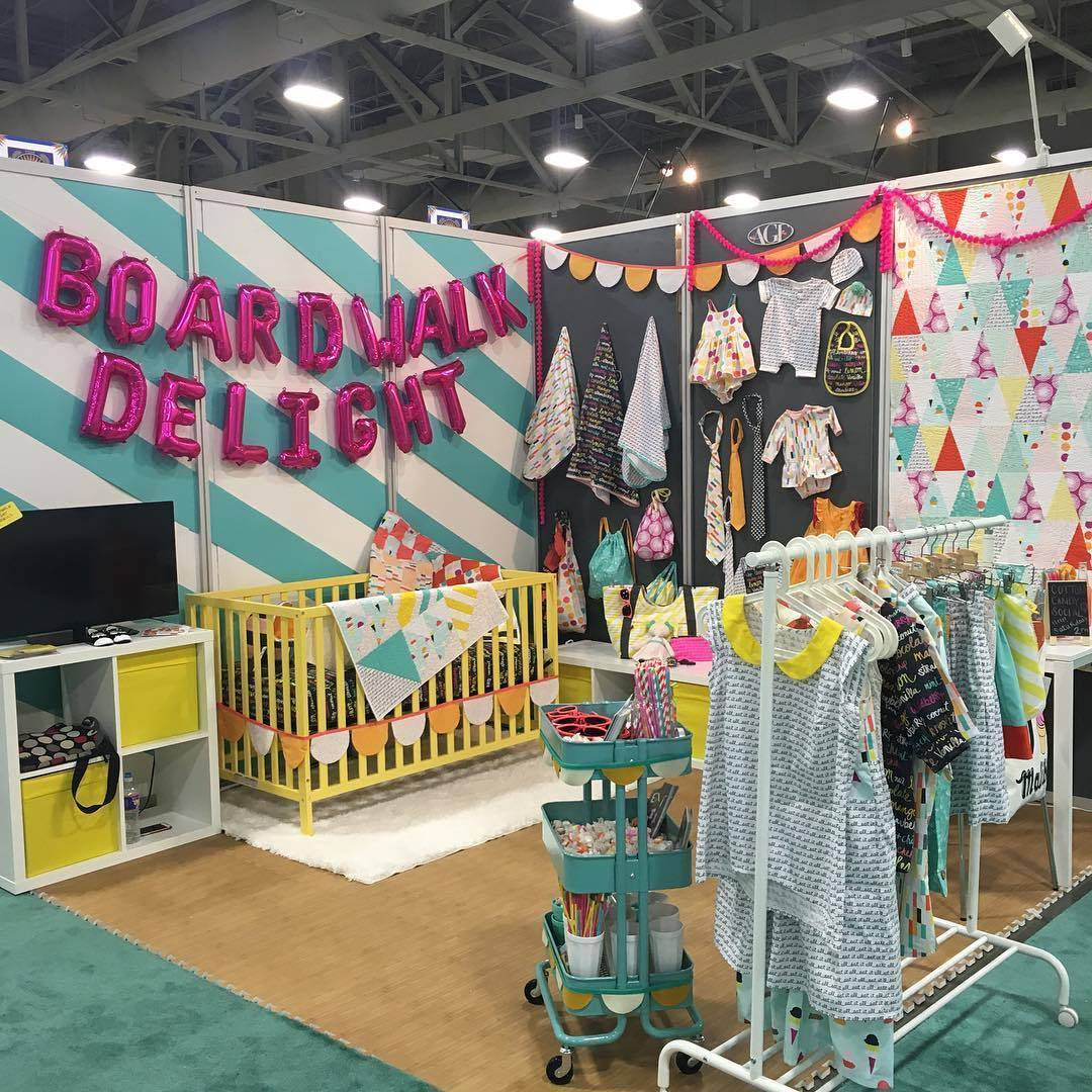 Boardwalk Delight Fabric Booth Hawthorne Threads