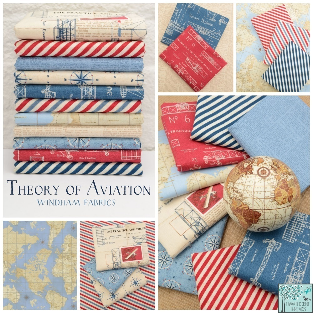 Theory of Aviation Fabric Poster
