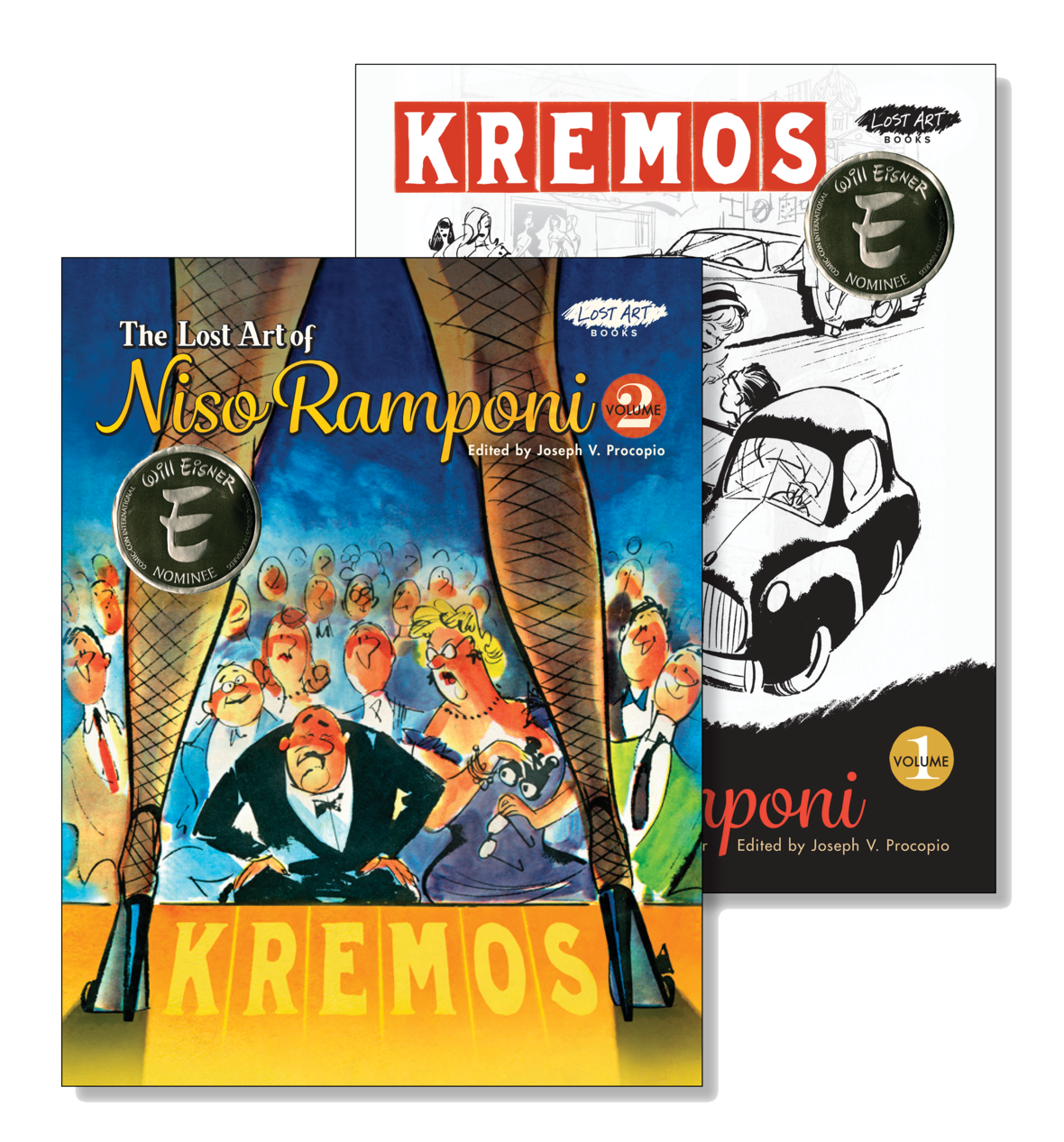 kremos with eisner seals