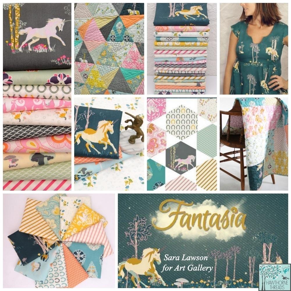 Fantasia Fabric Poster