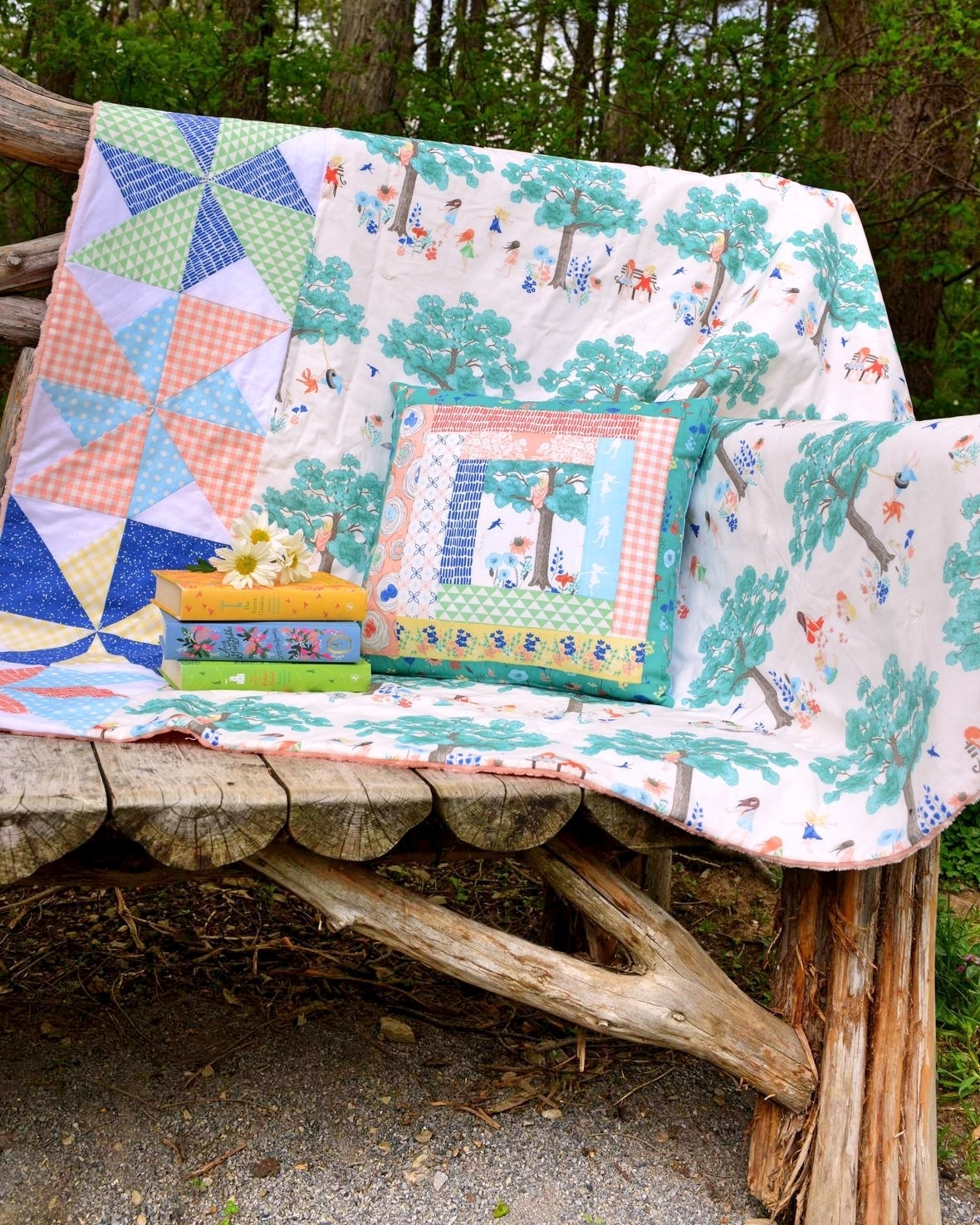 Meadowlark Quilted Throw