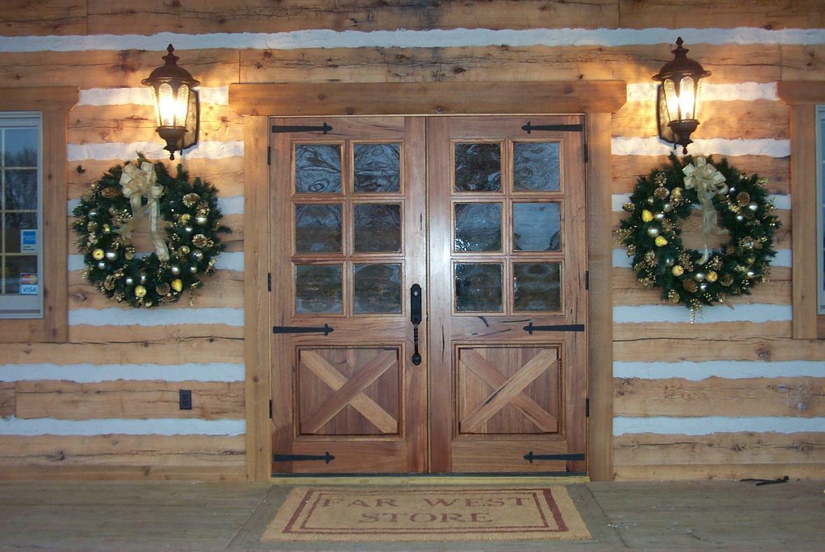 Front Doors to Store