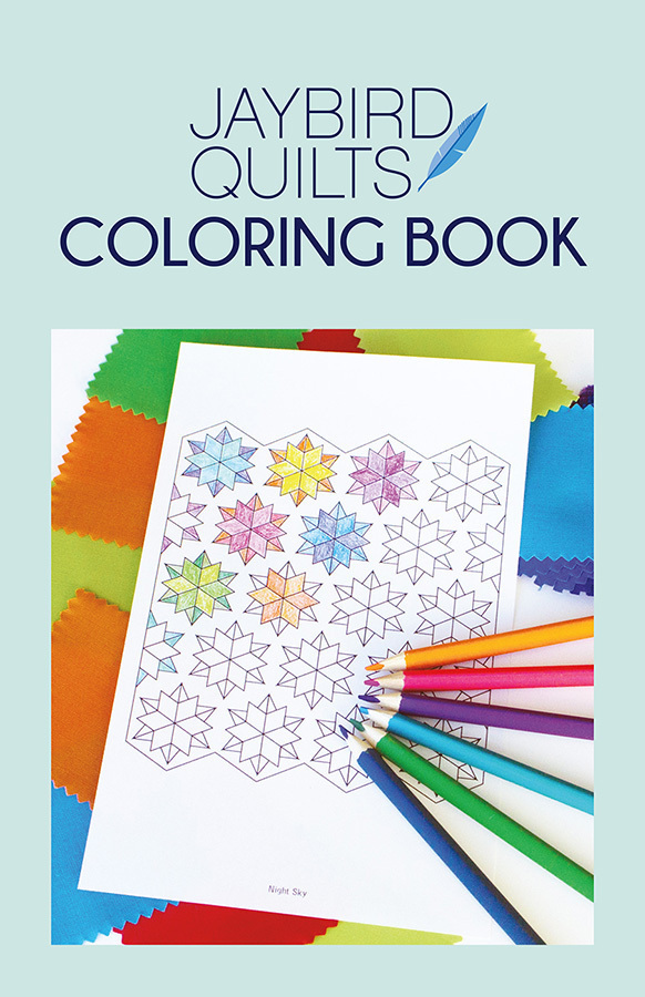 jaybird quilts  jaybird quilts coloring book sewing pattern