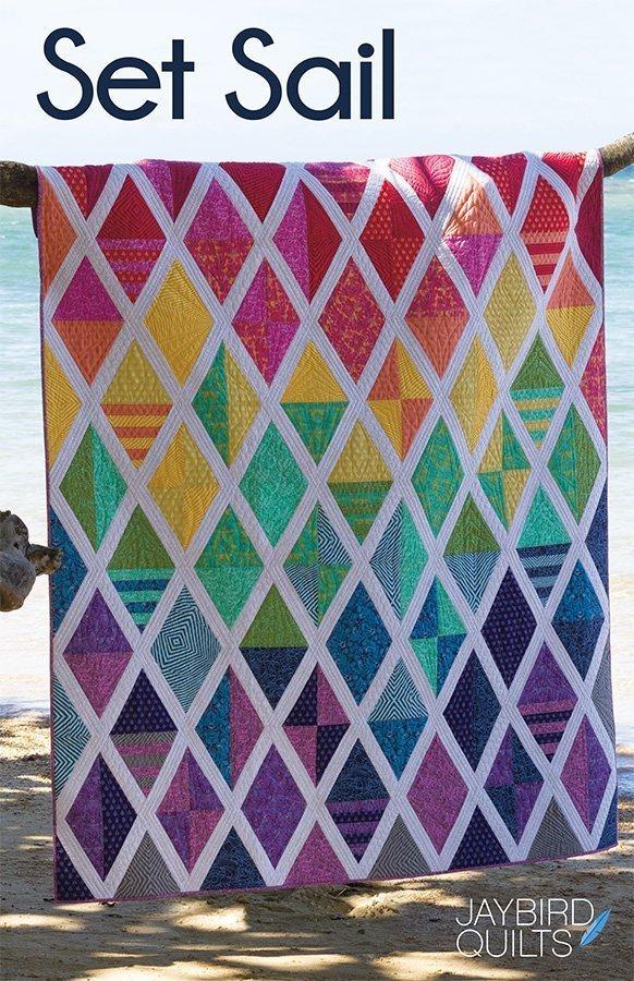 jaybird quilts  set sail sewing pattern
