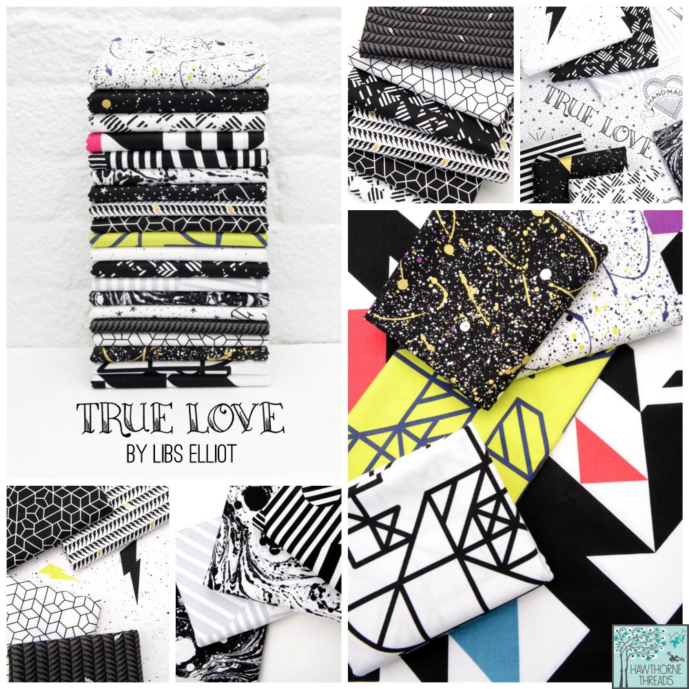 True Love Fabric Poster