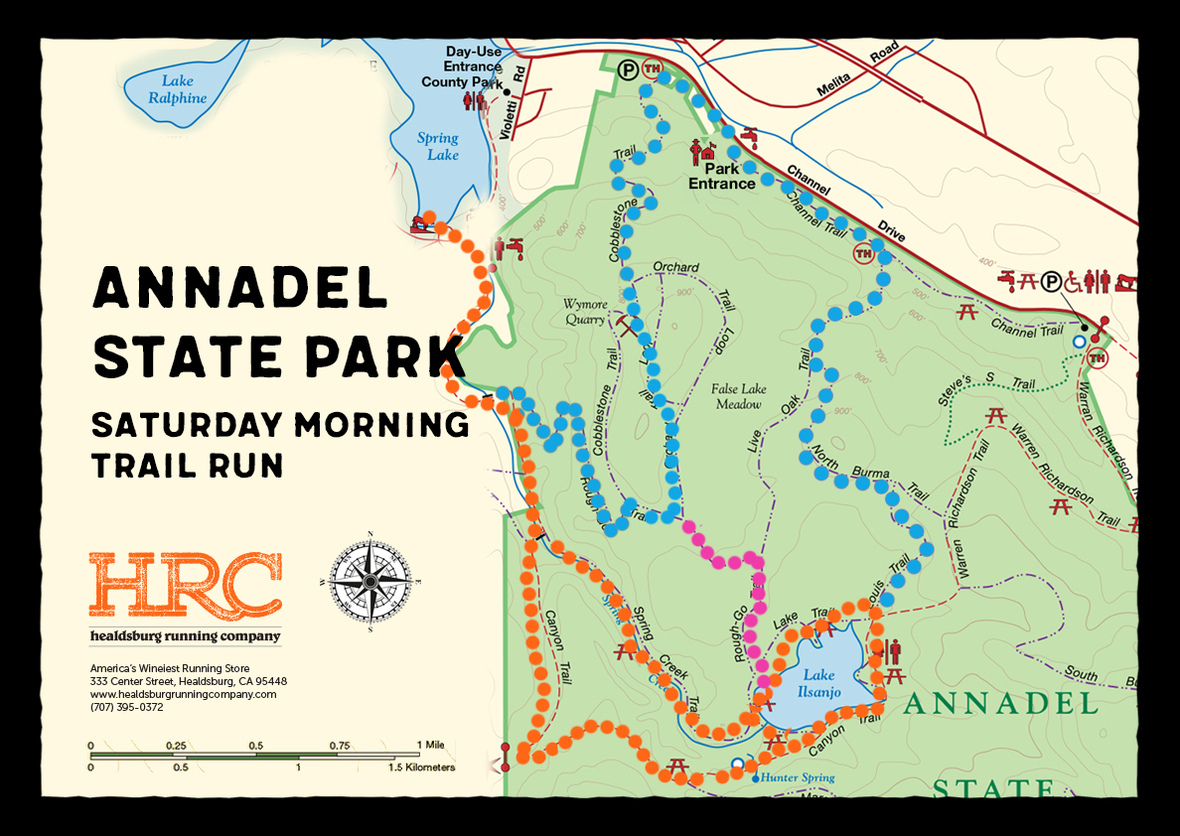 annadel with short route