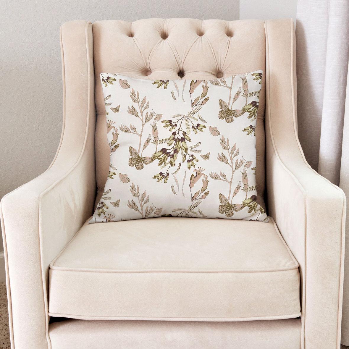 Pillow-in-Chair-20-in-Butterfly-Garden-in-Ivory