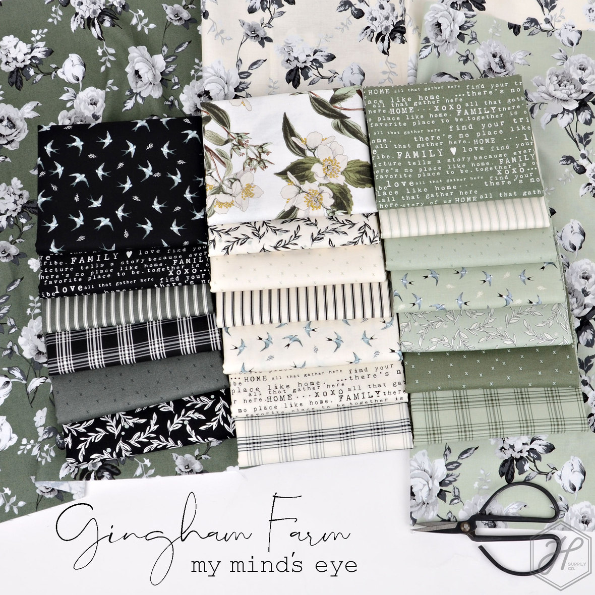 Gingham-Farm-Fabric-Riley-Blake-at-Hawthorne-Supply-Co