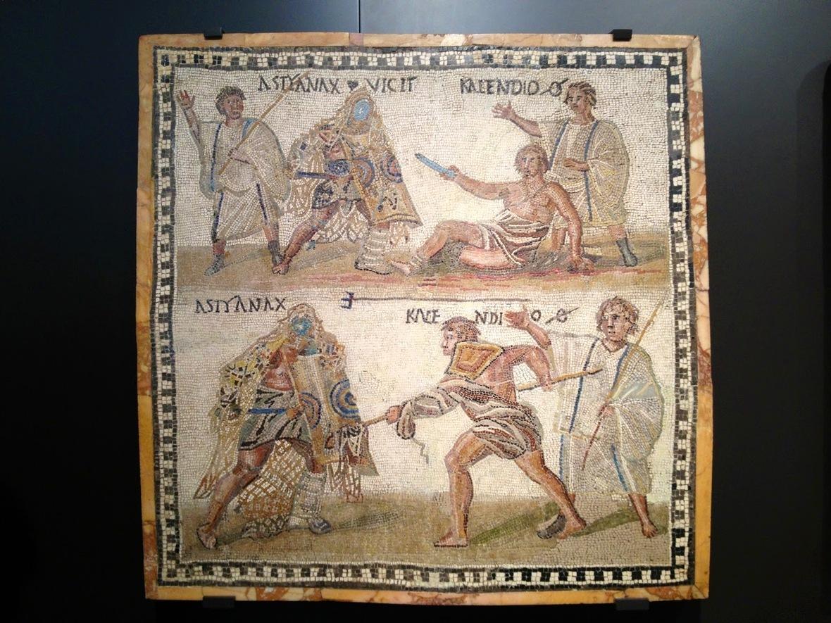 esclavos gladiadores