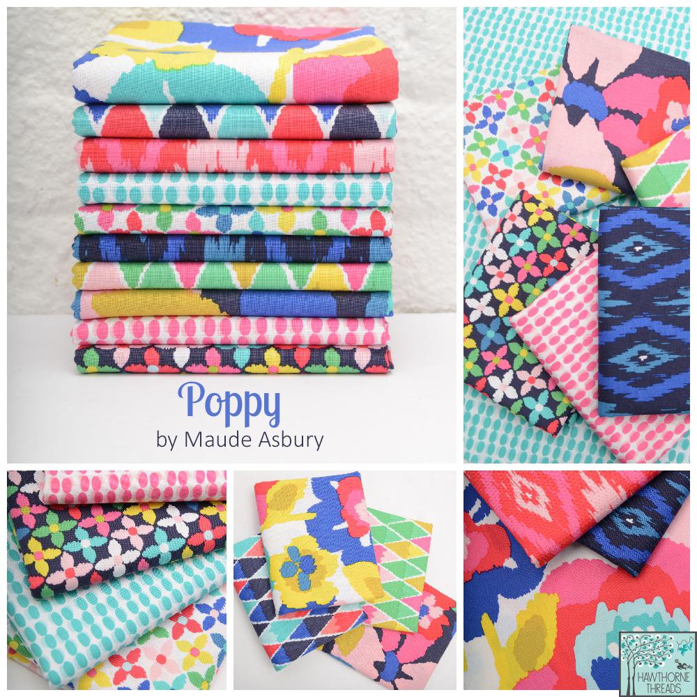 Poppy Fabric Poster