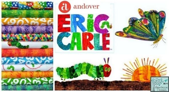 Eric Carle Fabric