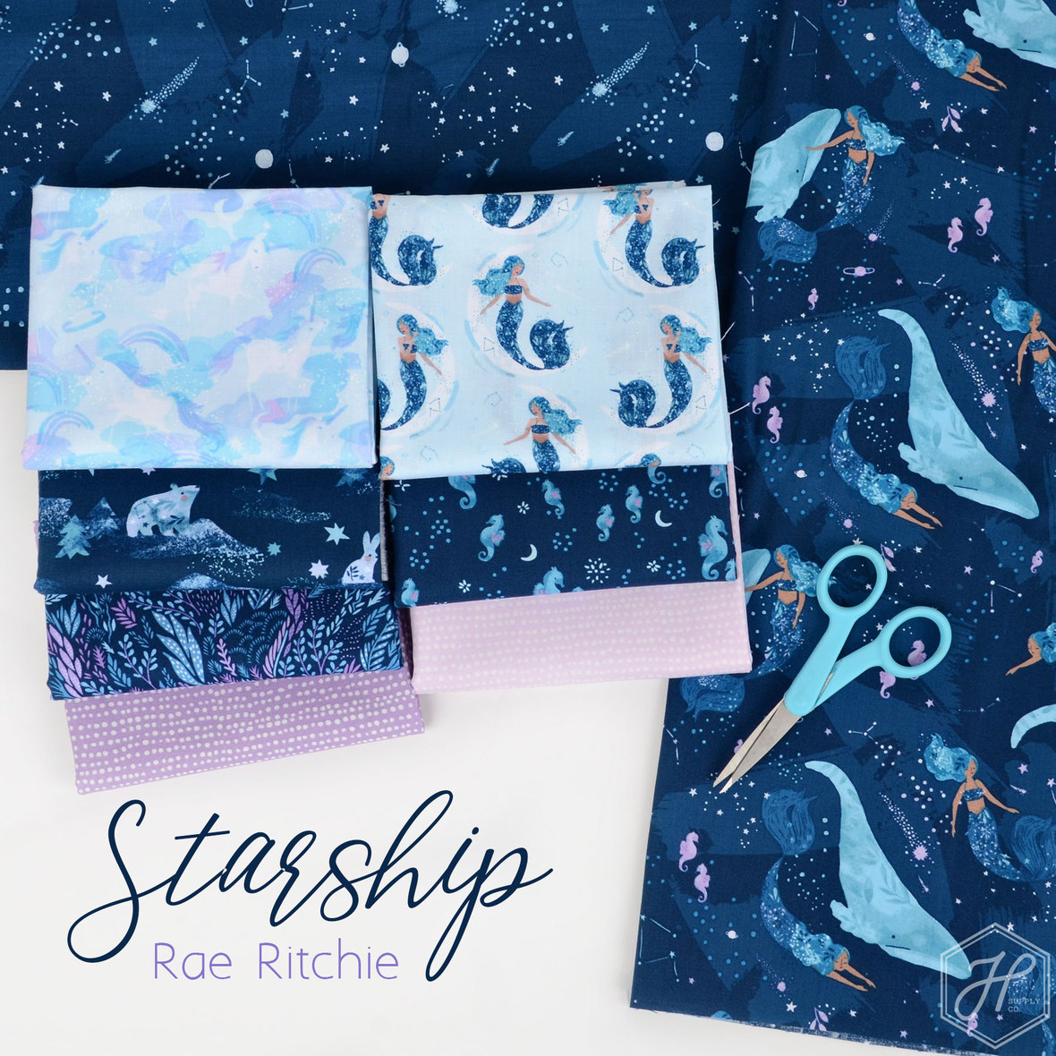 Starship-Fabric-Dear-Stella-at-Hawthorne-Supply-Co.