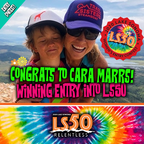 Ladies entry Cara Marrs
