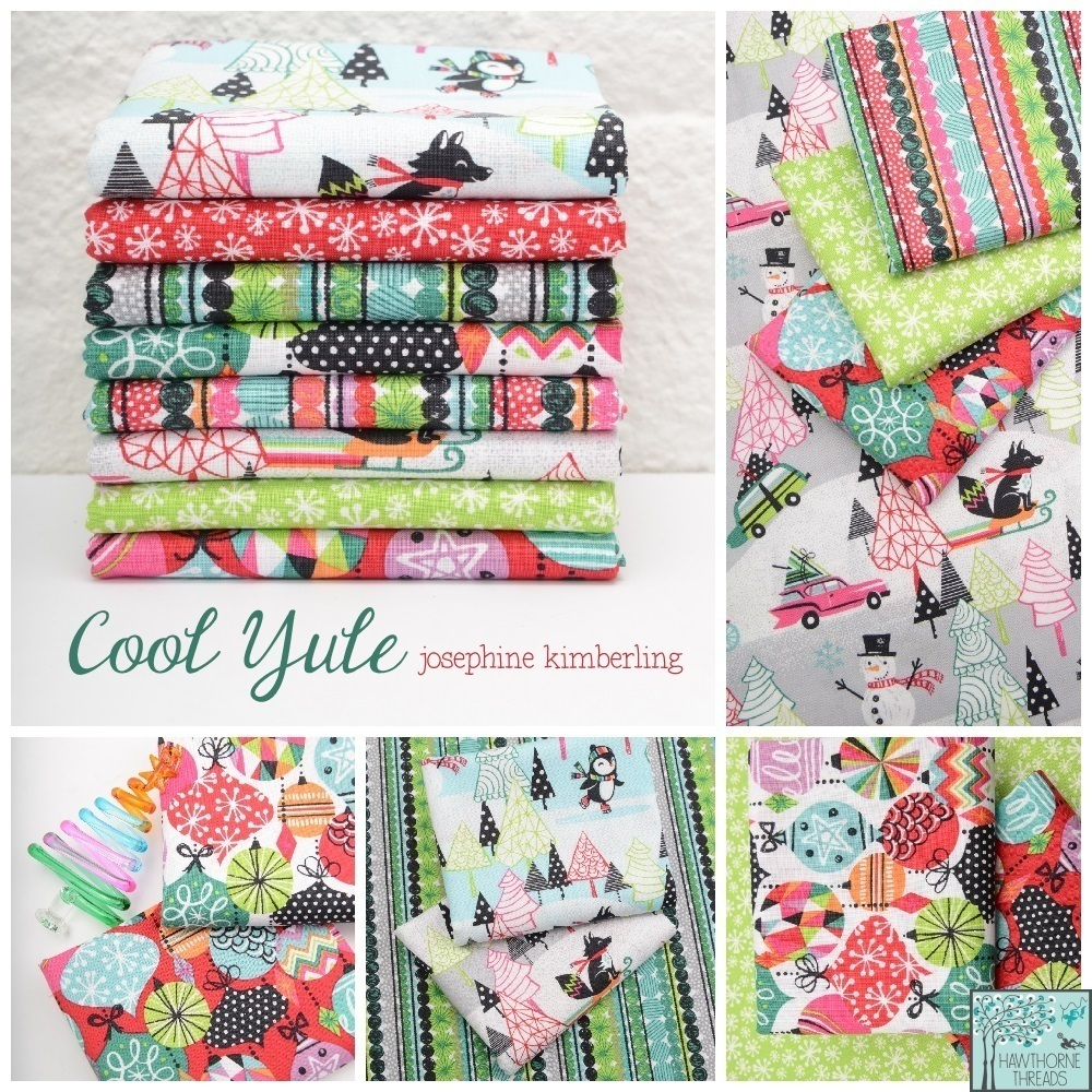 Cool Yule Fabric Poster