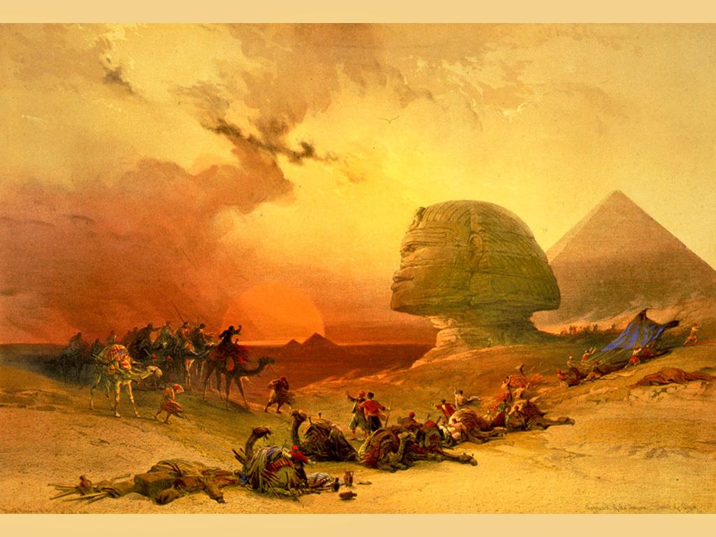 EG Roberts Giza-sfinga-3 big