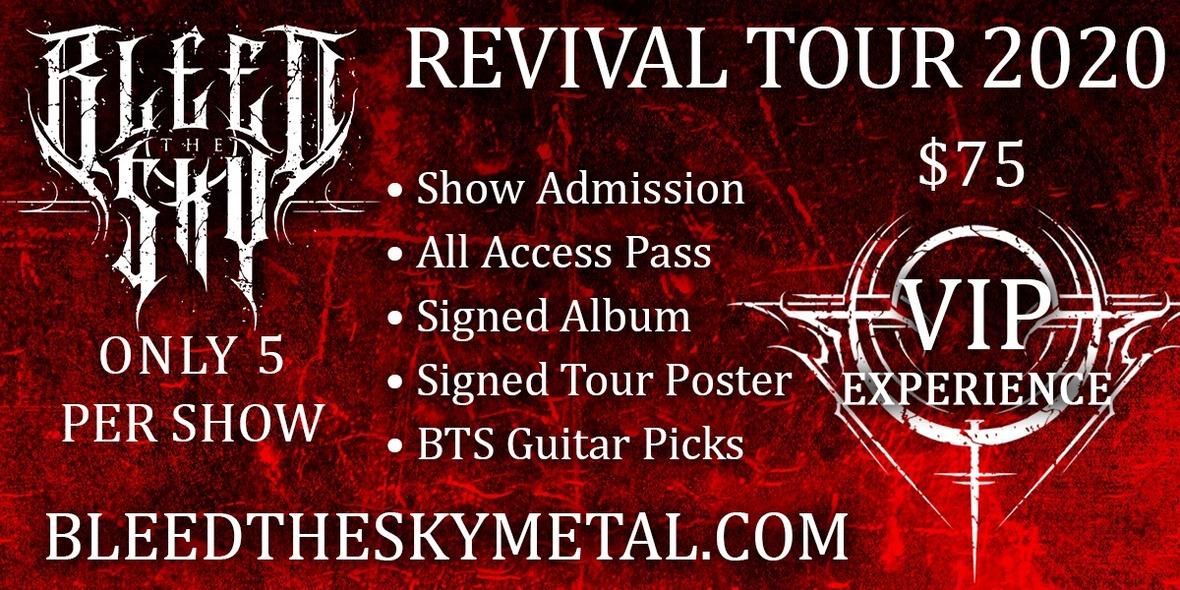bleed the sky tour