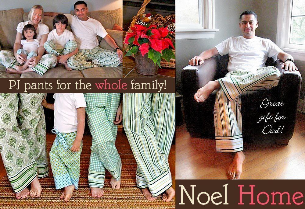 0643-Noel Home PJ Pants-1 b
