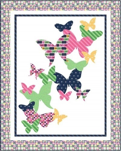 Up and Away Fabric Quilt