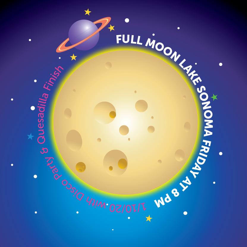 full moon X