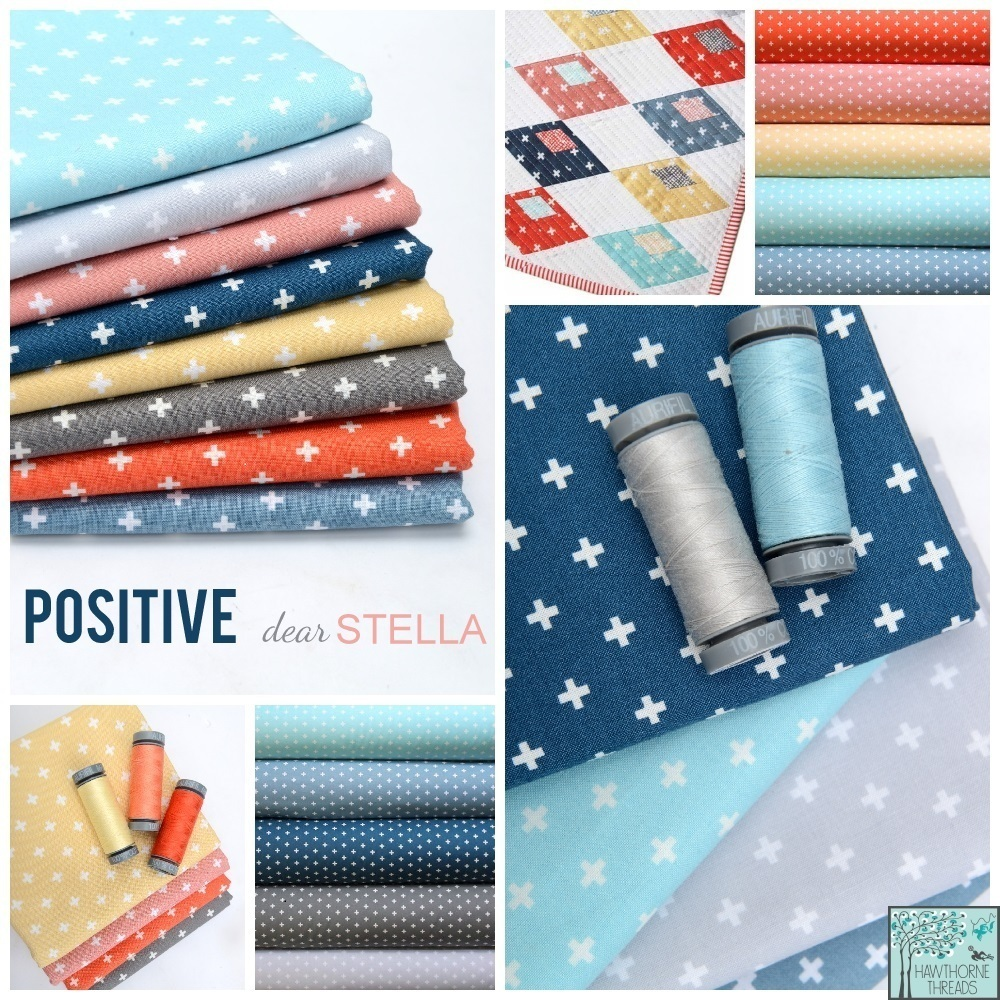 Positive Fabric Poster