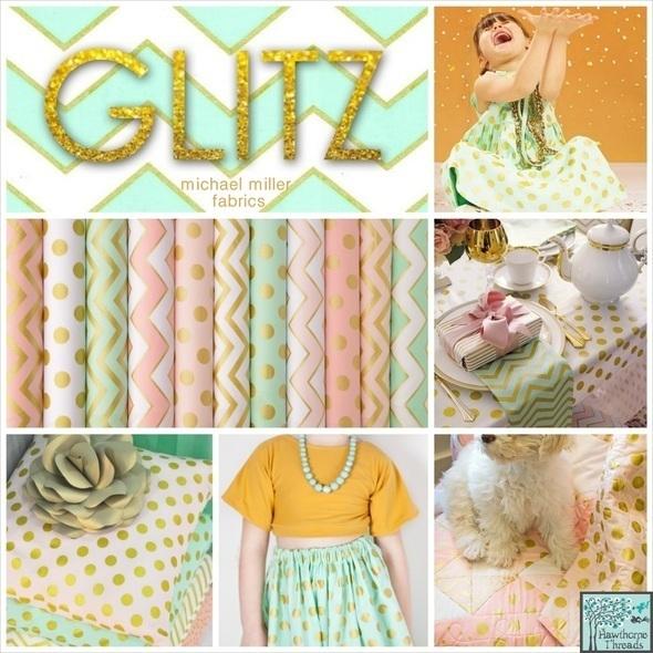 Glitz Fabric Poster