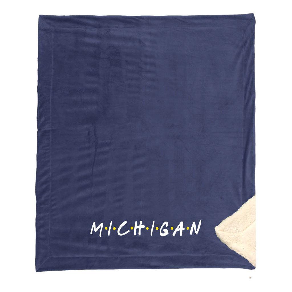 michigan-friends-blanket