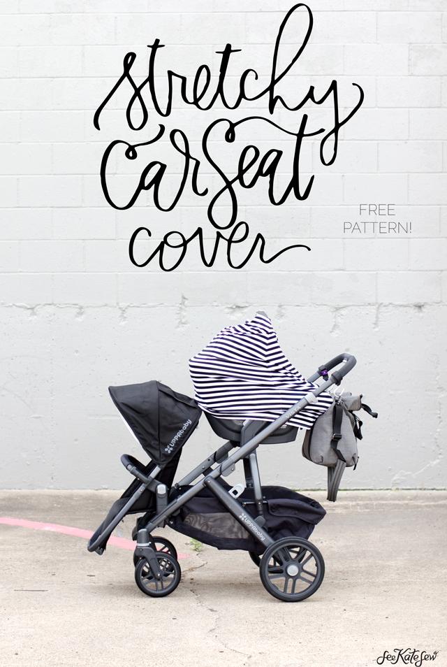 DIY car seat cover tutorial (FREE!)