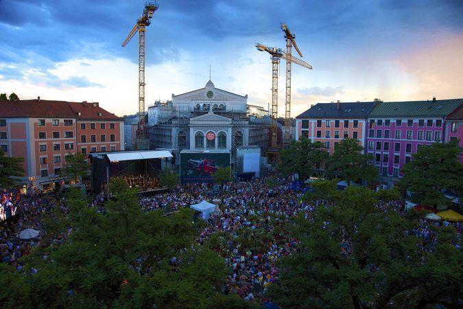 Open Air: The Staatstheater am Gärtnerplatz offers a peek at next season's attractions – July 17th