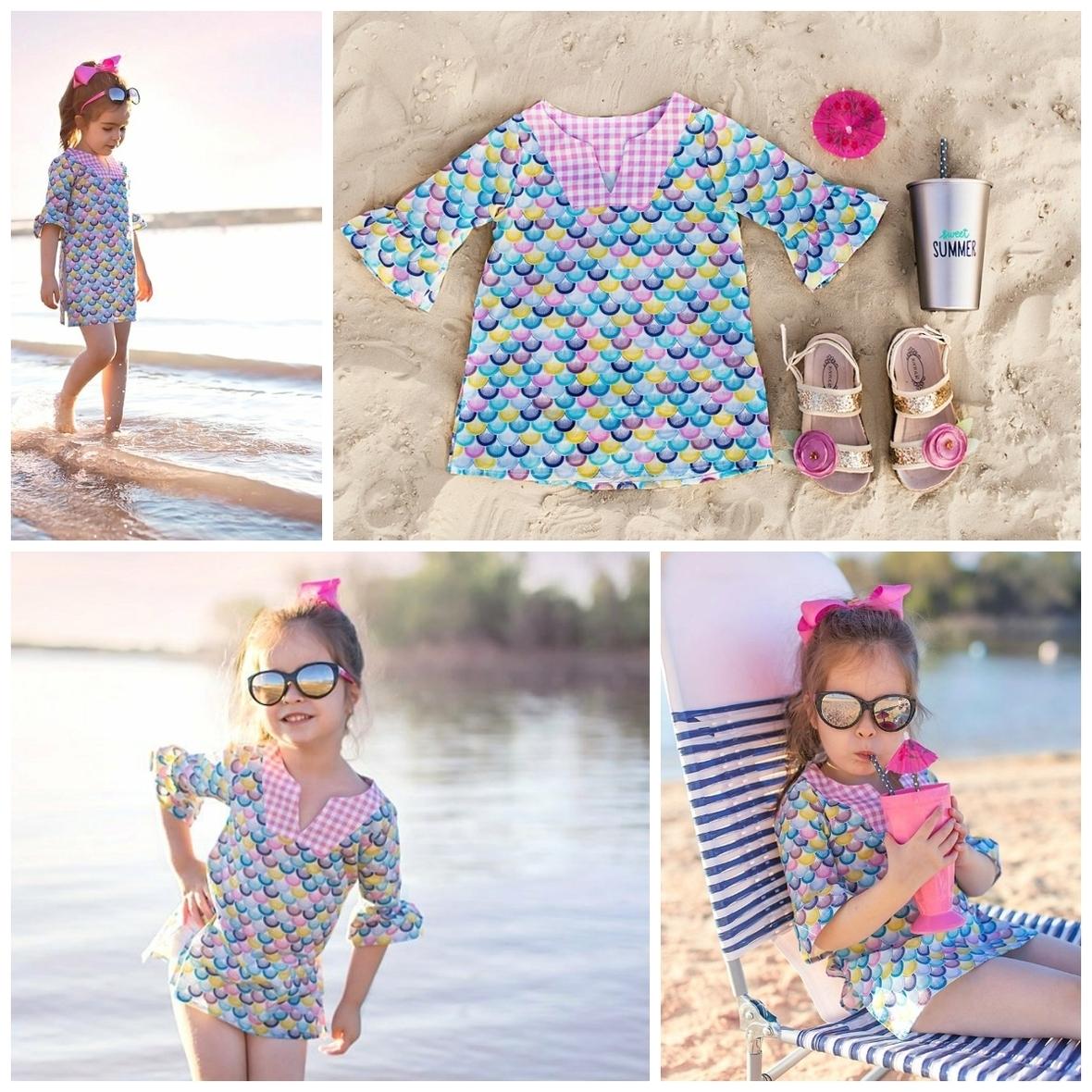 Flowersack Dresses Riviera Fabric Tunic
