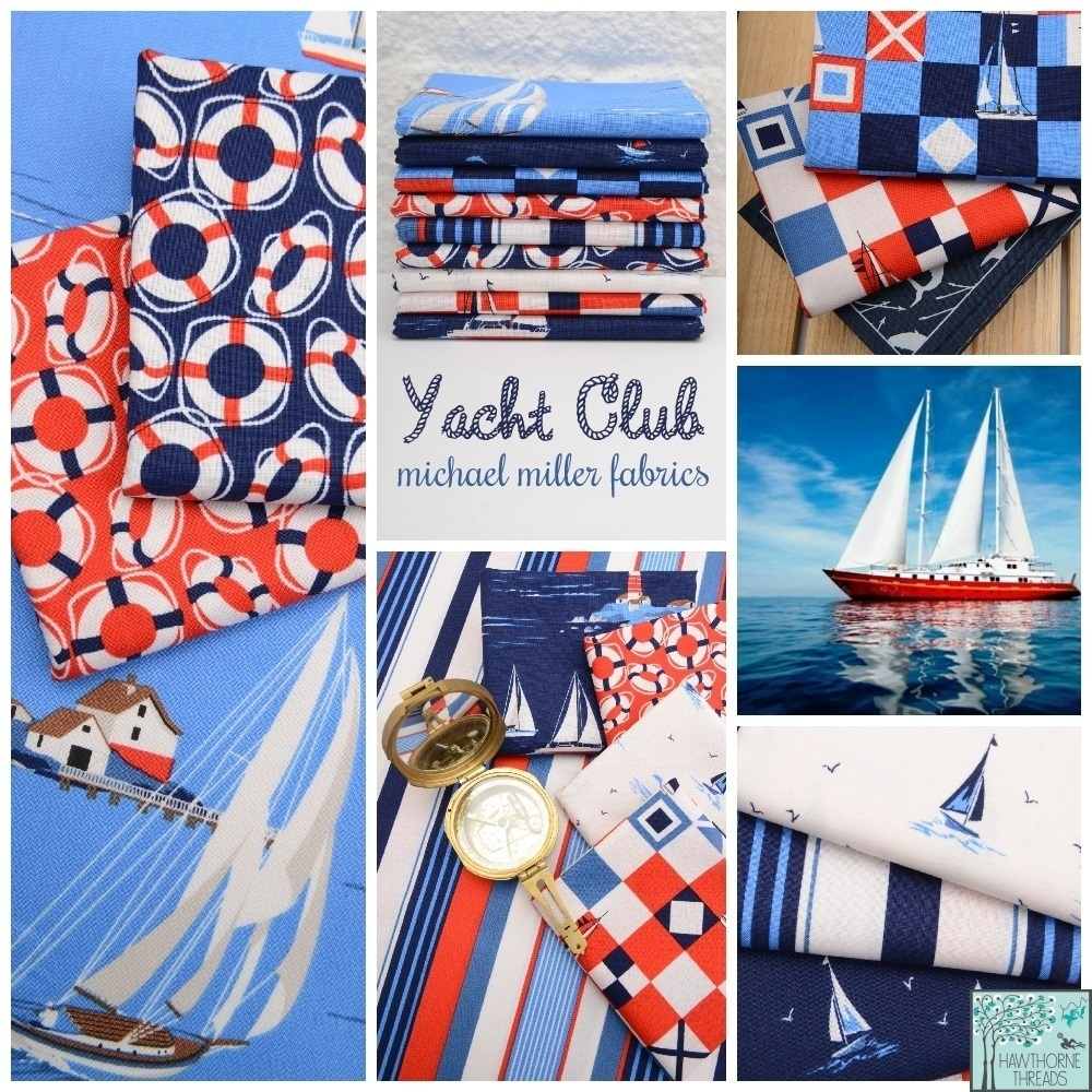 Yacht Club Fabric Poster
