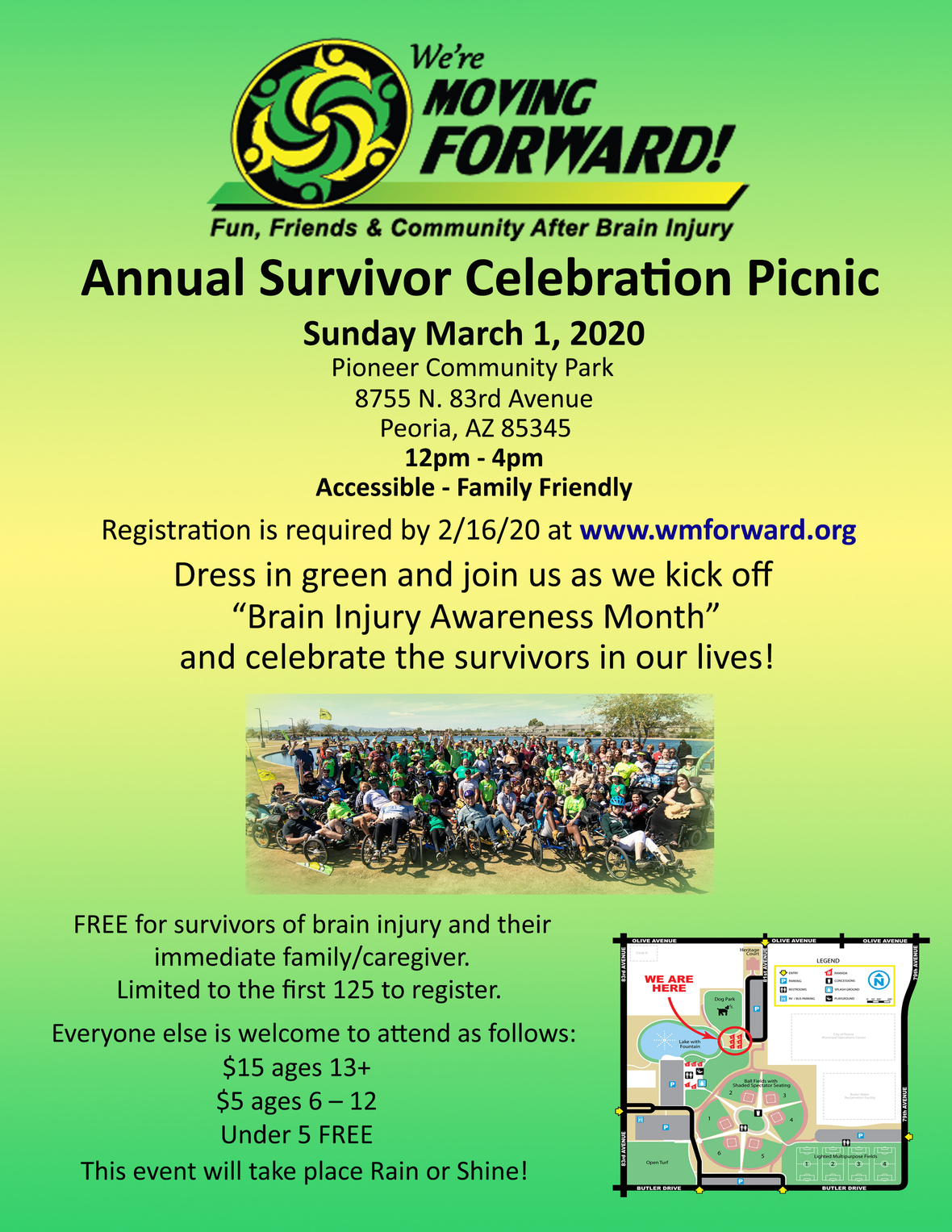 Annual Picnic Flyer 2020