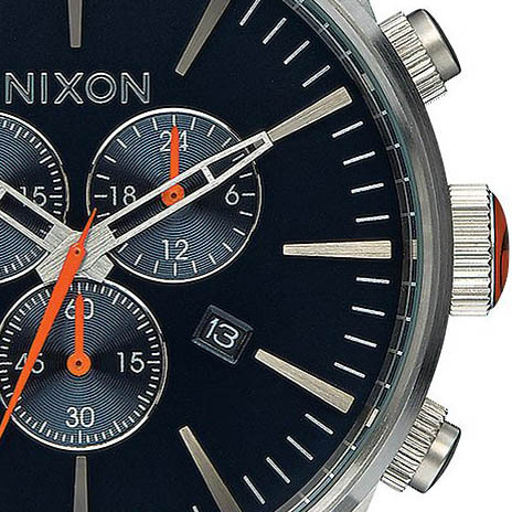 Nixon Sentry Leather Chrono Blue Orange full  33626.1458797289.1280.1280