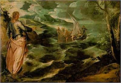 Jesus camina sobre el mar 01  01