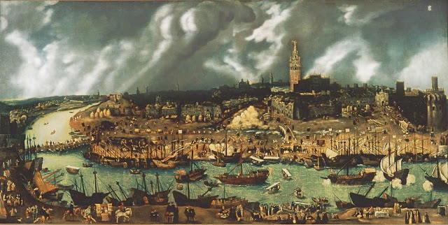 Sevilla puerto de indias