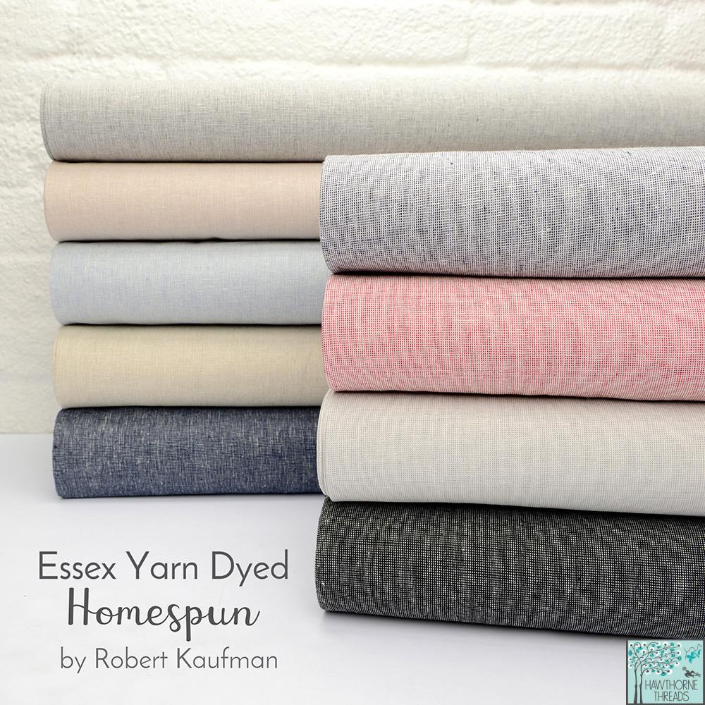 Essex Yarn Dyed Homespun Fabric Poster