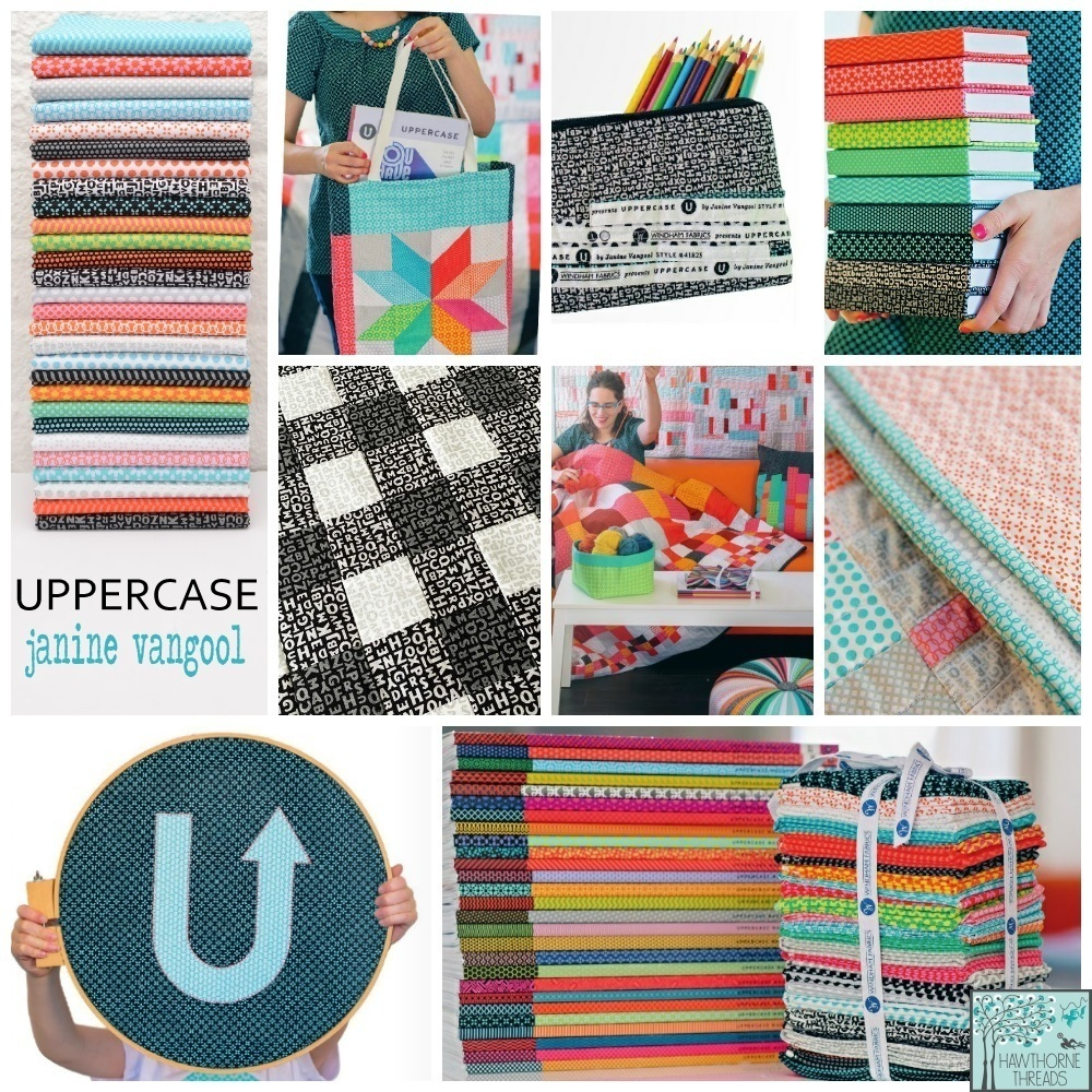 Uppercase Fabric Poster